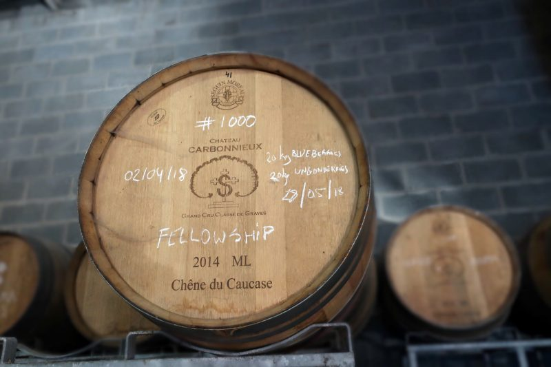 Alvinne Brewery barrels