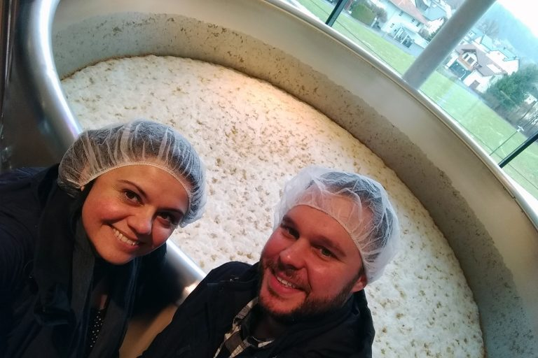 Trumer 'slow brewing' tanks